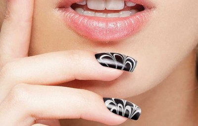 marble nails (2)
