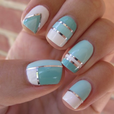 thread nail art